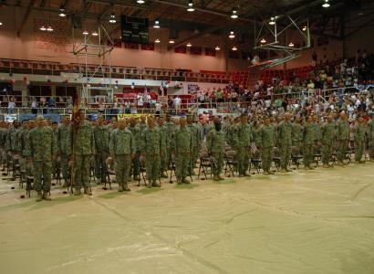 1345th Transportation Company Homecoming